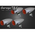 【Garage T&F】Plain Stretch方向燈(四個一組)開口型支架F