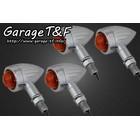 【Garage T&F】Slit Rocket方向燈(四個一組)開口型支架F