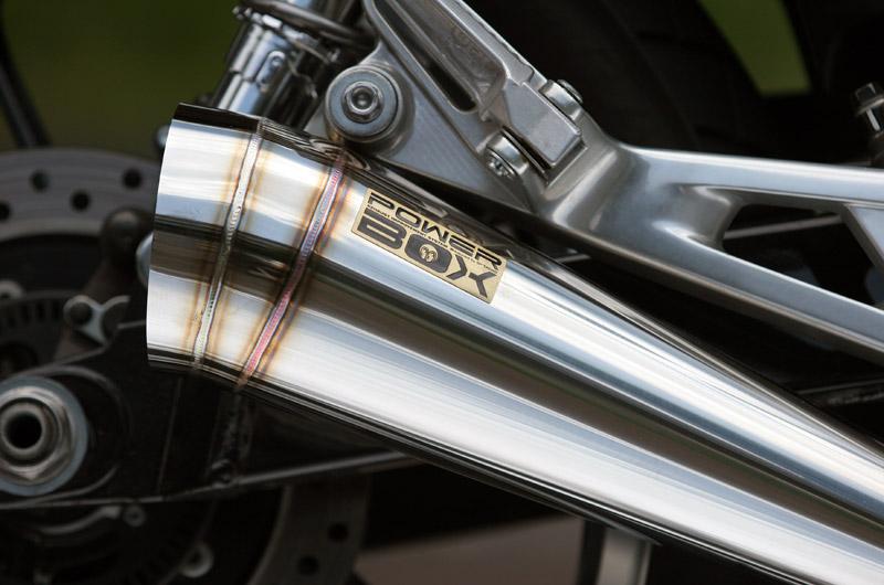 Pure sports Power Box排氣管尾段