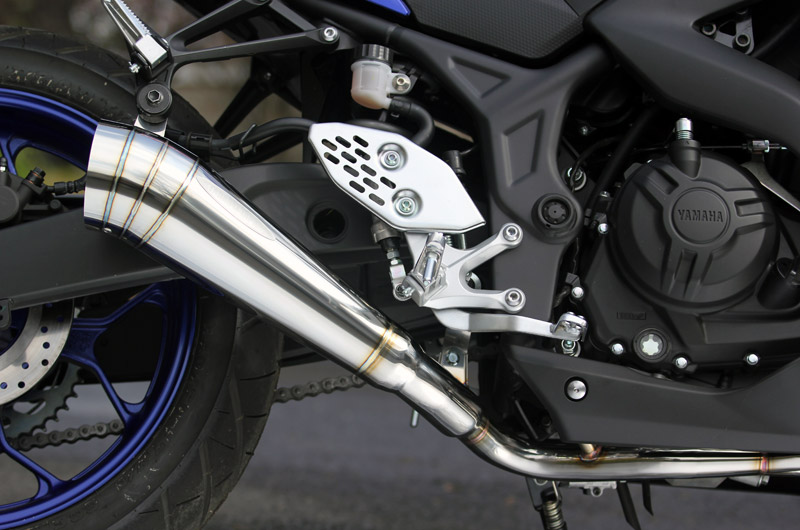 PURE SPORT Megaphone 全段排氣管