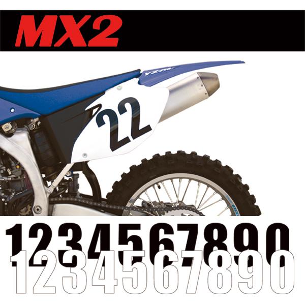 標準號碼牌 MX2