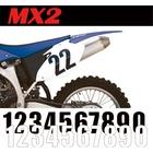 【MOTION】標準號碼牌 MX2