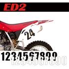 【MOTION】標準前號碼牌 ED2