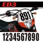 【MOTION】標準前號碼牌 ED3
