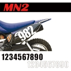 【MOTION】標準號碼牌 MN2
