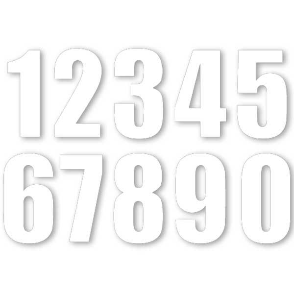 【MOTION】標準號碼牌 MN2 - 「Webike-摩托百貨」