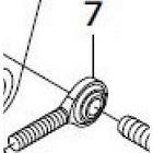 【SP武川】【維修用零件】桿端關節軸承