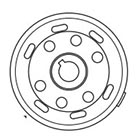 SP TAKEGAWA [Repair Parts] Flywheel