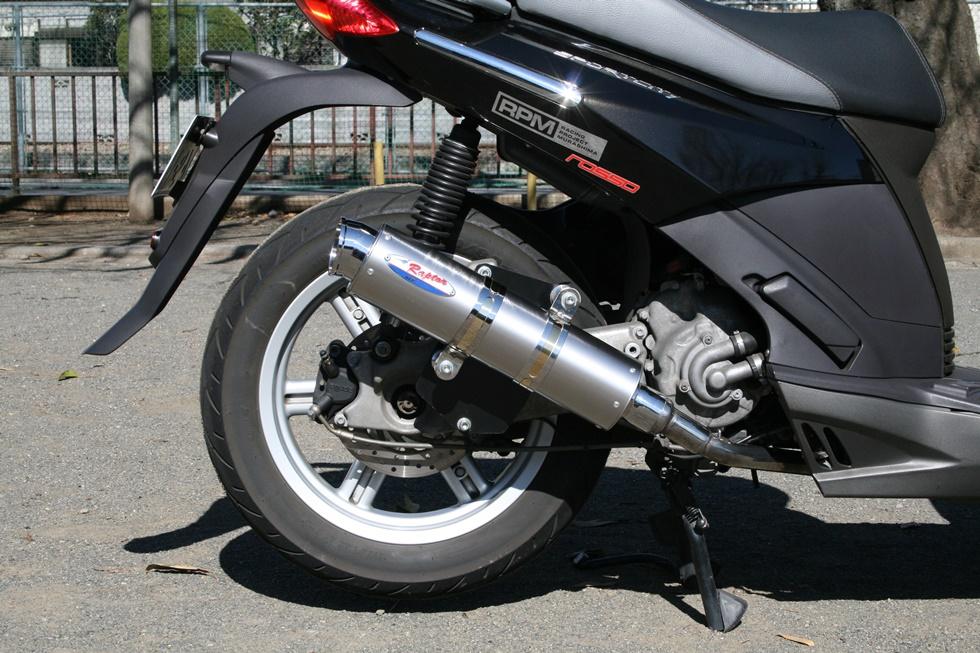 80D-RAPTOR 全段排氣管(鈦合金消音器)