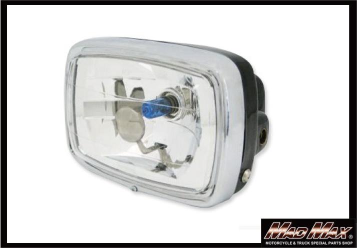 【MADMAX】Mini Bike用 晶鑽型頭燈 (方型) - 「Webike-摩托百貨」