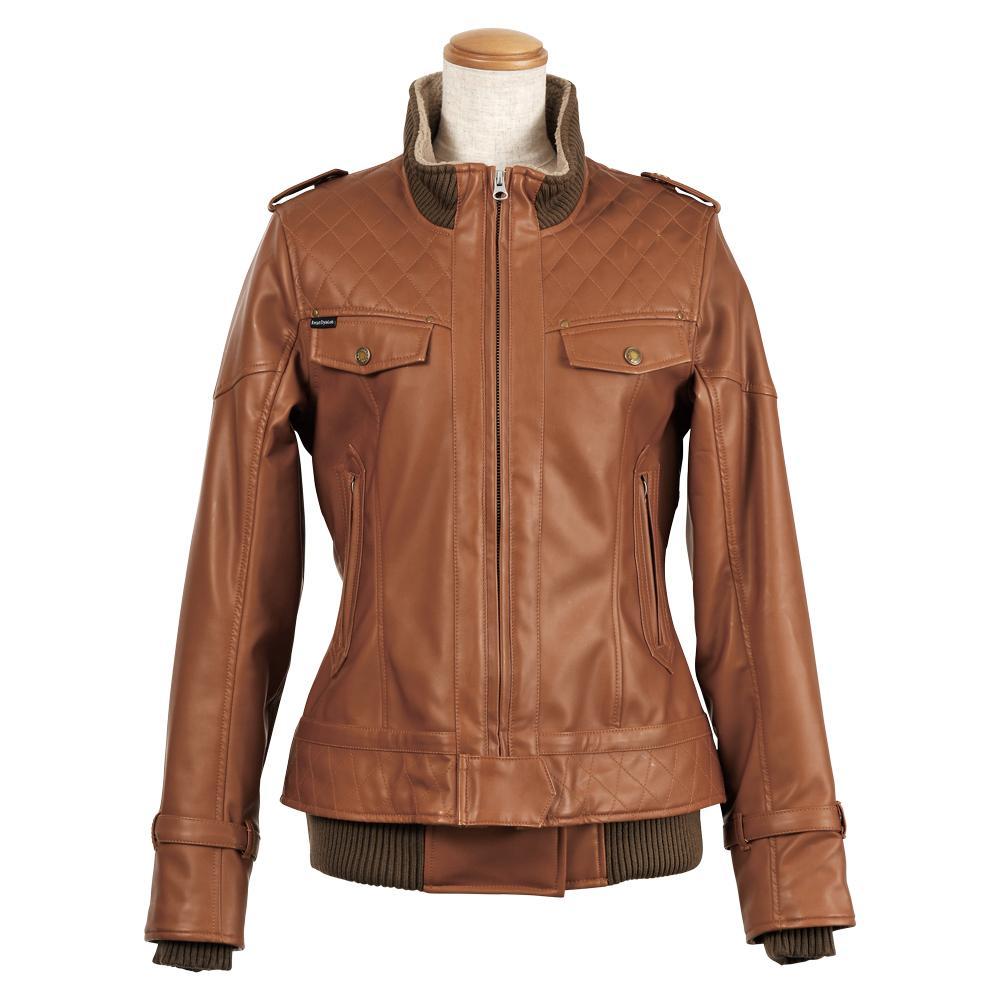 【Rosso StyleLab】仿皮革冬季外套