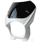 【MADMAX】180Φ 汎用頭燈整流罩・透明風鏡組套