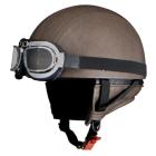 【LEAD】BARTON WB-33 皮革半罩安全帽