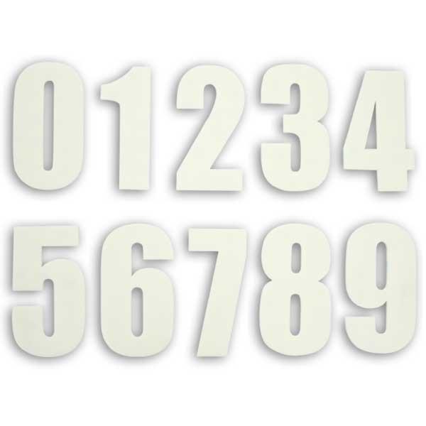 Urethane 號碼牌