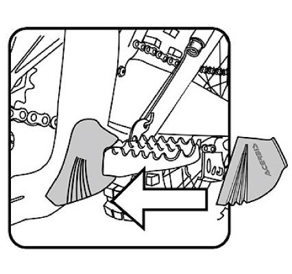 【ACERBIS】腳踏護套 - 「Webike-摩托百貨」