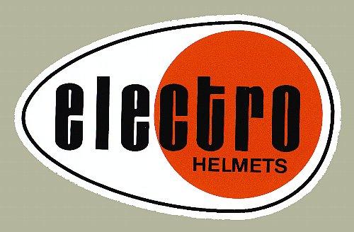 Electro Helmet LOGO 貼紙