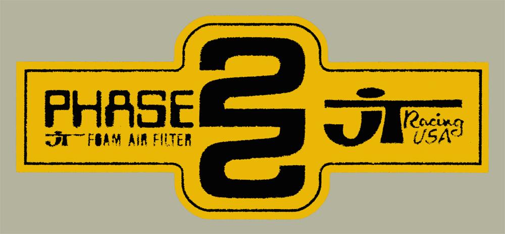 JT Phase 2 Filter 貼紙