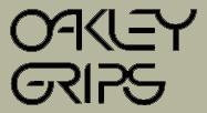 【HollyEquip】Oakley Grips Die-Cut 貼紙 - 「Webike-摩托百貨」