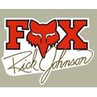 【HollyEquip】FOX Ricky Johnson 貼紙