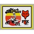 【HollyEquip】FOX Mark Barnett 貼紙