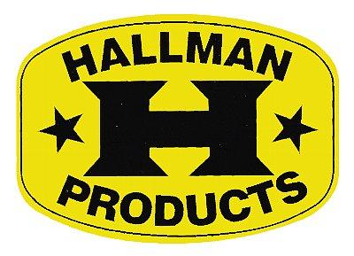Hallman 貼紙