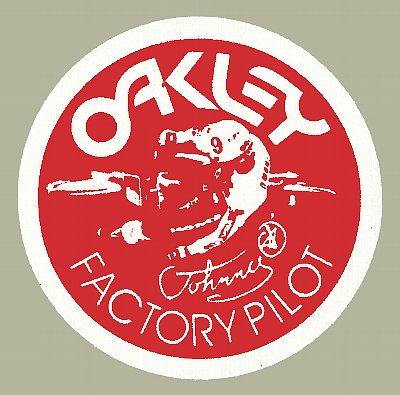 Oakley Factory Pilot Johnny O 貼紙