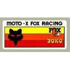 【HollyEquip】Moto-X FOX Racing YOKO Racing 貼紙
