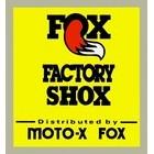 【HollyEquip】FOX Factory Shox Vintage Vertical 貼紙