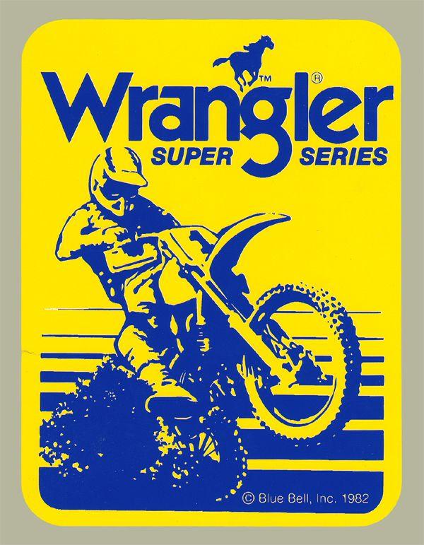 【HollyEquip】Wrangler Super Series 貼紙 - 「Webike-摩托百貨」