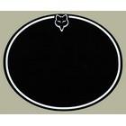 【HollyEquip】FOX 9 7/8 Oval 號碼牌底色貼紙