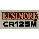 【HollyEquip】1974-75 HONDA CR125 Elsinore 側蓋貼紙(PR)