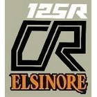 【HollyEquip】1979 HONDA CR125R Elsinore 側蓋貼紙(PR)