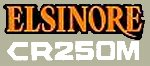 1976 HONDA CR250 Elsinore 側蓋貼紙(PR)