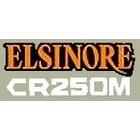 【HollyEquip】1976 HONDA CR250 Elsinore 側蓋貼紙(PR)