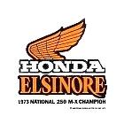 【HollyEquip】HONDA CR250 73 MX Champ 貼紙