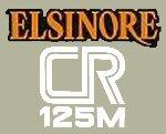 1978 HONDA CR125 Elsinore 側蓋貼紙(PR)