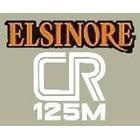 【HollyEquip】1978 HONDA CR125 Elsinore 側蓋貼紙(PR)