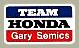 TEAM HONDA 貼紙(Gary Semics)