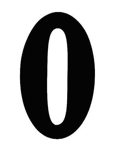 O Brien 數字貼紙#0