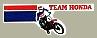 VINTAGE TEAM HONDA Logo貼紙