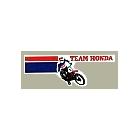 【HollyEquip】VINTAGE TEAM HONDA Logo貼紙