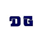 【HollyEquip】DG Logo貼紙(深藍色)