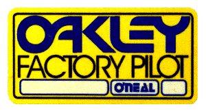 Oakley Oneal 貼紙