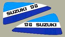 DG 1979 SUZUKI RM250 油箱貼紙(PR)
