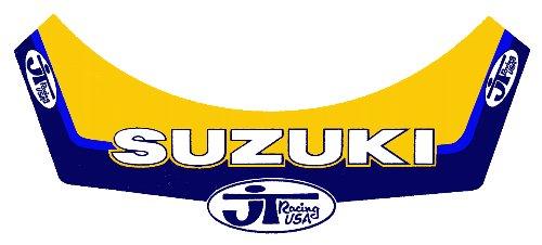 JT Team SUZUKI 帽緣貼紙