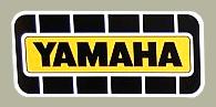 YAMAHA 貼紙(Large)