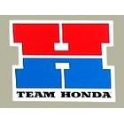 【HollyEquip】TEAM HONDA 「H」 貼紙(Large)