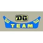 【HollyEquip】DG TEAM 帽緣貼紙
