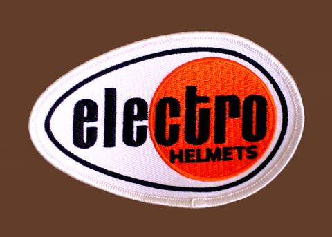 Electro Helmet 布徽章