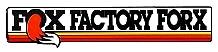 FOX Factory Forx 前叉貼紙